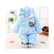 Baby Winter Jumpsuit / Romper Baby Clothes- Blue | Children's Clothing for sale in Nairobi, Westlands