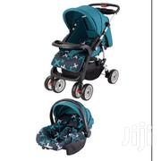 Superior 3in1 Value Pack Baby Stroller Set-blue Printed Plus Free Gift | Prams & Strollers for sale in Nairobi, Westlands