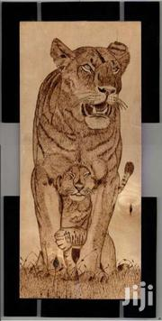 Lion And Cab Wall Art | Home Accessories for sale in Meru, Municipality