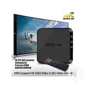 MXQ Android Smart 4K TV BOX - Black | TV & DVD Equipment for sale in Nairobi, Nairobi Central