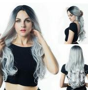 Black Gradient Grey Full Wig | Hair Beauty for sale in Kajiado, Ongata Rongai