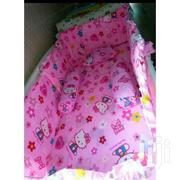 3pcs Baby Cot Bumper Set Baby Cot Bed Sheets Baby Pillows-pink | Babies & Kids Accessories for sale in Nairobi, Westlands