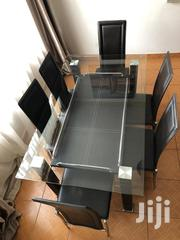 6 Seater Glass Table Dinning Table   Furniture for sale in Nairobi, Embakasi