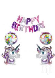 Brand New Unicorn Happy Birthday Balloon Set | Party, Catering & Event Services for sale in Nairobi, Nairobi Central