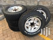 5 BF Goodrich All - Terrain T/A KO 4x4 Tyres With Original Alloy Rims   Vehicle Parts & Accessories for sale in Nairobi, Kitisuru