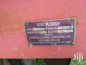 Plough 3 Disk From Howard & Sons England.