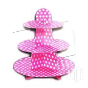 Brand New Pink Polka Dots Cupcake Stand 3 TIER CUPCAKE STAND | Home Accessories for sale in Nairobi, Nairobi Central