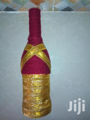Gold Theme Thread Bottle Decor | Home Accessories for sale in Kiambu, Cianda
