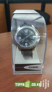 CASIO MEN'S BLACK DIAL LEATHER BAND WATCH MTP 1314L 8AV | Watches for sale in Nairobi, Nairobi Central