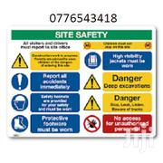 CONSTRUCTION SAFETY SIGNS | Safety Equipment for sale in Nairobi, Nairobi Central