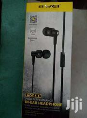 Awei Es_500i  Earphone Genuine | Accessories for Mobile Phones & Tablets for sale in Homa Bay, Mfangano Island