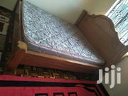 Mohagany Bed With Mattress | Furniture for sale in Nairobi, Kilimani
