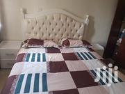 5'6 Bed Newly Used With Side Bed Cabinets | Furniture for sale in Nairobi, Nairobi South