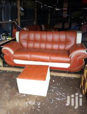 Leather Made 3 Seater | Furniture for sale in Nairobi, Kahawa