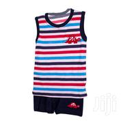 2 Piece Boy's Set(Vest and Shorts) Baby Boys Clothes | Children's Clothing for sale in Nairobi, Westlands