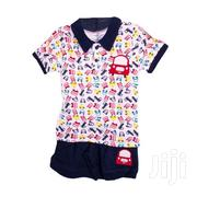2 Piece Boys Set (Polo T-shirt And Shorts) Baby Boys Clothes | Children's Clothing for sale in Nairobi, Westlands