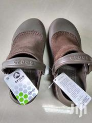 Crocs Ladies Troika Chocolate. Suede Leather And Rubber   Clothing for sale in Nairobi, Woodley/Kenyatta Golf Course