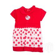 2 Piece Girls Set (Frock And Red,White Panty) Baby Girls Clothes | Children's Clothing for sale in Nairobi, Westlands