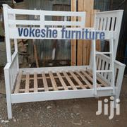 Bunk Bed White | Furniture for sale in Nairobi, Ngando