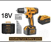 Ingco Cordless 18V Impact Drill KIT | Electrical Tools for sale in Nairobi, Nairobi Central