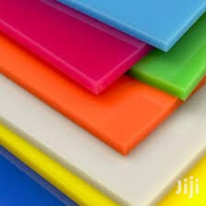 Coloured Perspex Sheets 6ft X 4ft X 3mm