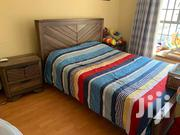 Bed Plus Side Cabinet | Furniture for sale in Nairobi, Pumwani