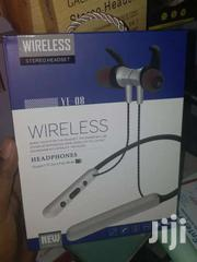 Wireless Stereo Headset Neckband Earphones Support SD Memory Card | Accessories for Mobile Phones & Tablets for sale in Nairobi, Nairobi Central
