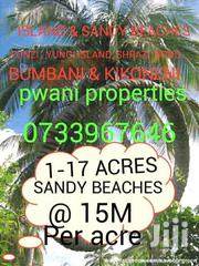 SANDY BEACHES & ISLANDS AT SOUTH COAST | Land & Plots For Sale for sale in Kwale, Ramisi