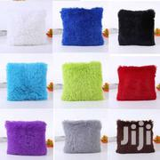 Decorative Fluffy Plush Throw Pillow Case Cushion Covers - 18'' X 18'' | Home Accessories for sale in Nairobi, Nairobi Central