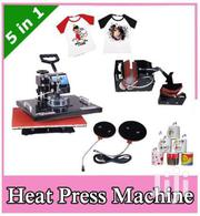 5 In 1 Heat Press Machine Sublimation T-shirt Caps Hats Plate Machine | Printing Equipment for sale in Homa Bay, Mfangano Island