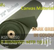 """Green Canvas 72 (Price Per Mtr)"""" 