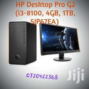 HP Desktop Pro G2 Core I3-8100, 4GB, 1TB | Laptops & Computers for sale in Nairobi, Nairobi Central