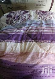Warm 6*6 Cotton  Duvets With A Matching Bed Sheet And Two Pillowcases | Furniture for sale in Nairobi, Kangemi