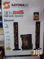 Sayona 3.1 Ch Speaker Subwoofer + Bluetooth -SHT1192BT | Audio & Music Equipment for sale in Nairobi, Nairobi Central