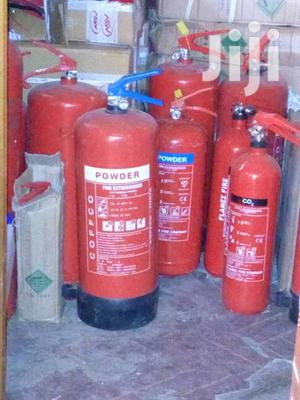 Powder Fire Extinguishers And Other Equipments