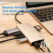 Baseus Almighty Hub Multi-port Adapter | Accessories for Mobile Phones & Tablets for sale in Nairobi, Nairobi Central