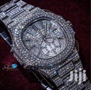 """""""Iced-out"""" Patek Philippe Nautilus 