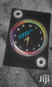 Handcrafted String Art Wall Clock   Home Accessories for sale in Nairobi, Umoja II