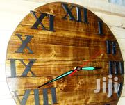 Rustic/Modern/Wooden/Engraved Wall Clock   Home Accessories for sale in Nairobi, Kahawa