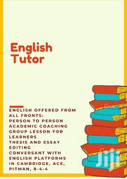 English Tutor | Child Care & Education Services for sale in Nairobi, Pangani