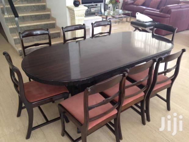 Archive: Mahogany Dining Table And 8 Chairs