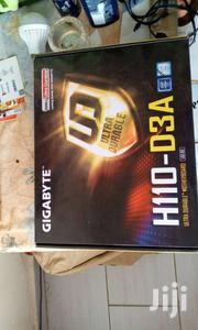 New Gigabyte H110 - D3A Gaming Motherboard Plus 6 Free Pcie Raisers | Computer Hardware for sale in Nairobi, Nairobi Central