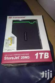 Transcend Portable External Hard Drive 1TB | Computer Hardware for sale in Nairobi, Nairobi Central