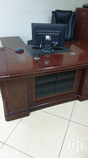 Executive Desk With Two Cabinet | Furniture for sale in Nairobi, Parklands/Highridge