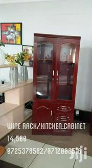 Mahogany Red Wine Rack/Kitchen Cabinet | Furniture for sale in Nairobi, Nairobi South