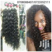 Peruvian Loose Curly Weave Semi Human | Hair Beauty for sale in Nairobi, Nairobi Central