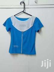 Blue And White Zipper Top | Clothing for sale in Nairobi, Nairobi South