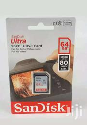 Sandisk 64gb Class10,80mb/S Memory Card For Camera  And Camcorders   Cameras, Video Cameras & Accessories for sale in Nairobi, Nairobi Central