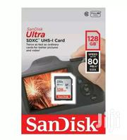 Sandisk Memorycard Ultra SDHC SD Card 128gb Class10,80mb/S For Camera | Cameras, Video Cameras & Accessories for sale in Nairobi, Nairobi Central