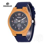 Generic REDEAR Brand Man Bamboo Wood Watch | Watches for sale in Nairobi, Nairobi Central